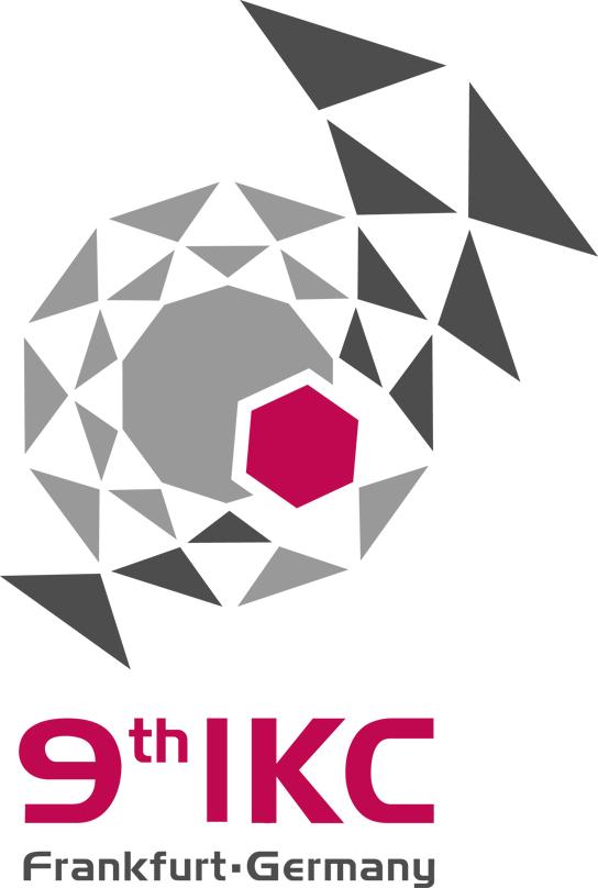 Logo: 9th IKC Frankfurt, Germany